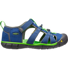 Keen Seacamp II CNX Chaussures Enfant, true blue/jasmine green